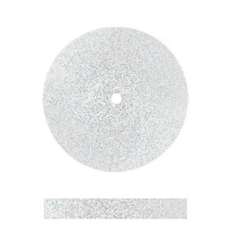 Rueda blanca grano grueso ancho normal 3mm