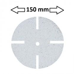 Disco torno/pulidora grano grueso 150mm