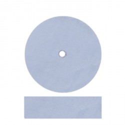 Rueda grano fino azul 22,5x6mm EXTRA ANCHA