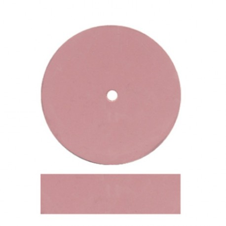Rueda rosa grano EXTRAFINO 22,5 x 6 mm