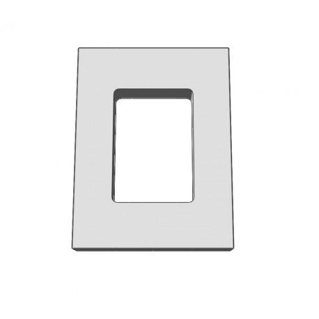 Marco para moldes 65x45x18 mm