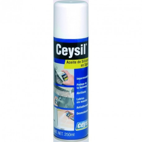 Aceite de silicona en spray Ceysil 250ML