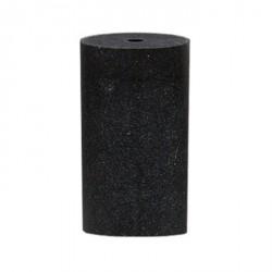 Cilindro negro grano medio 12x24 mm