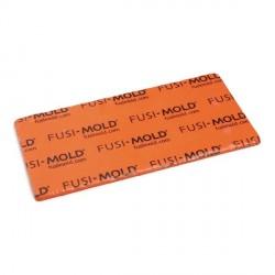 FUSIMOLD plancha silicona naranja para microfusión