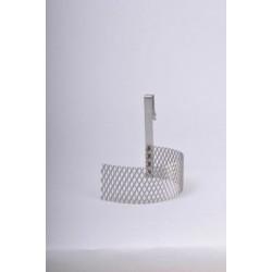 Ánodo de acero expandido
