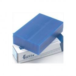 Lote de 5 bloques de cera azul para modelar Ferris 1 libra