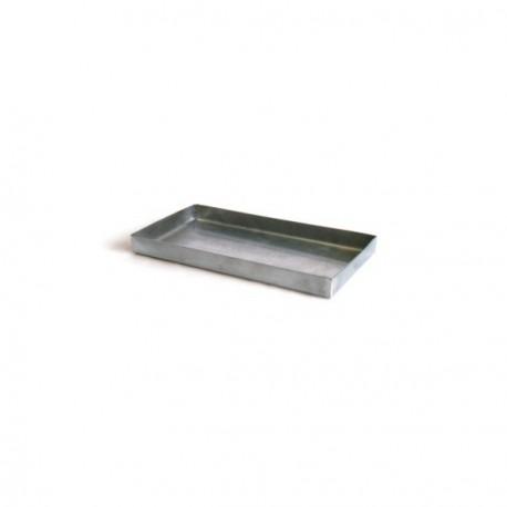 Bandeja acero inox para AT y ladrillo refractario