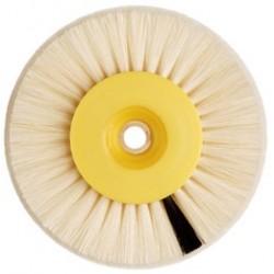 Cepillo circular Hatho Pelo de cabra+Scotch Brite