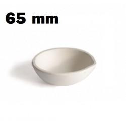 Crisol cazoleta refractaria 65 mm