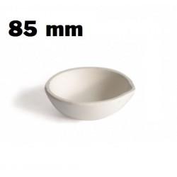 Crisol cazoleta refractaria 85 mm