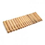 Juego de embutidores madera de boj