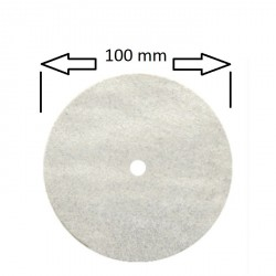 Rueda 100 mm para pulidora , ultra larga duración