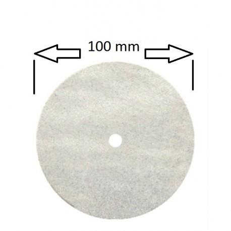 Rueda 100 mm para pulidora , ultra fina