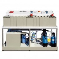 Unidad de galvanoplastia Profiline 15 con Reciclado y filtro